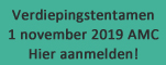Verdiepingstentamen november 2019
